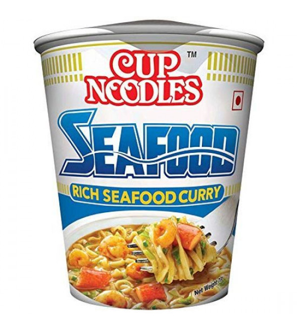 Cup Noodles Seafood Rich Seafood Curry 70gm