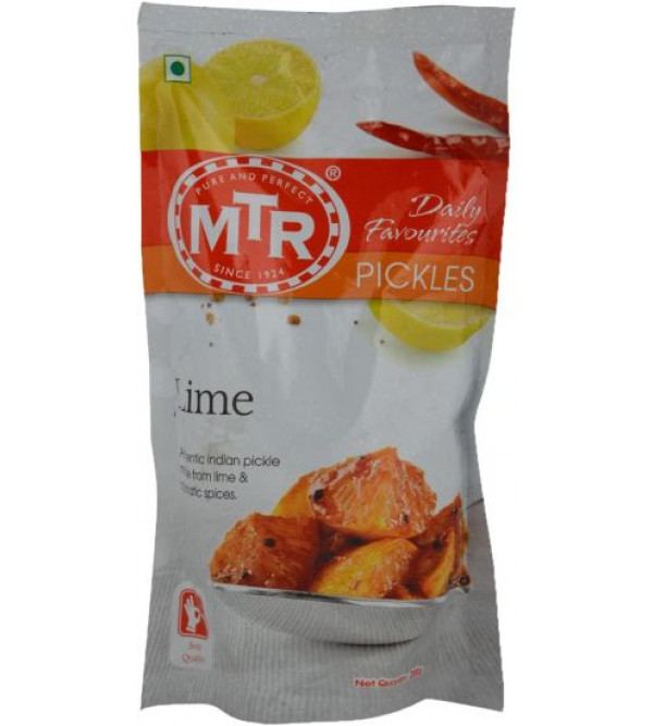 MTR Lime Pickles Refill Pkt 200gm